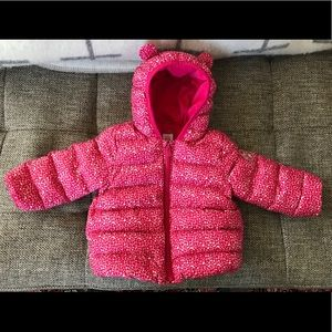 Down filled baby/toddler winter coat